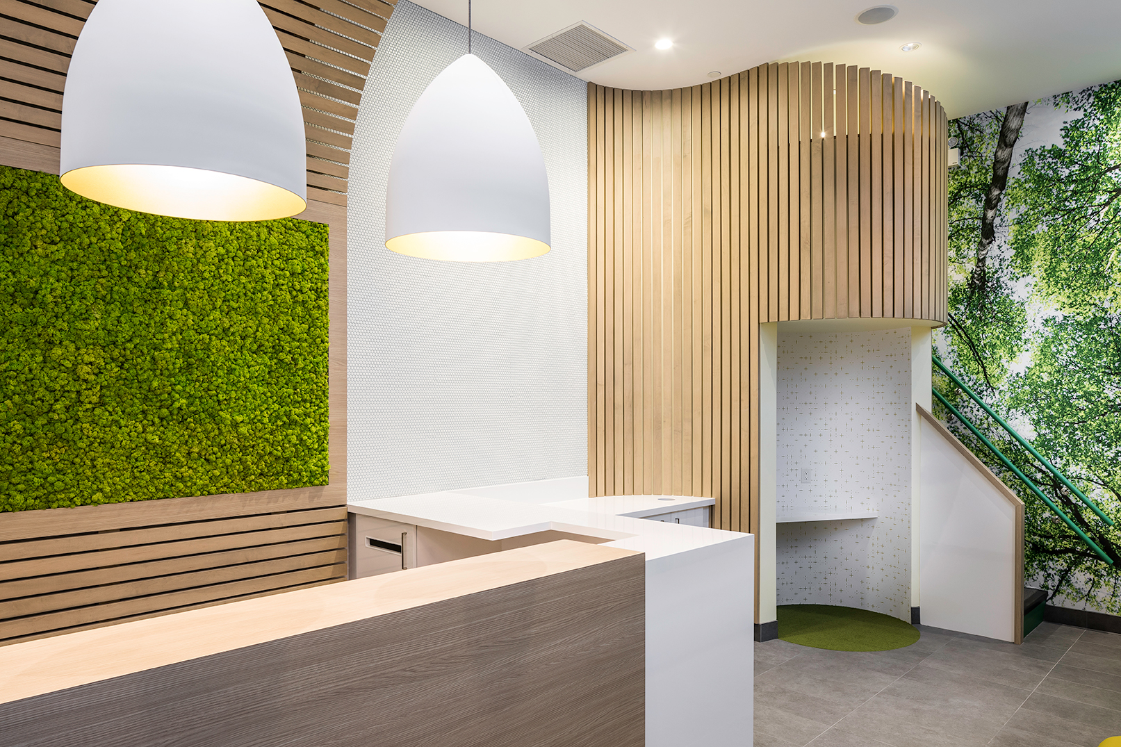 Arborlea Developments - Orthodontic Office - New Westminster - Reception Area