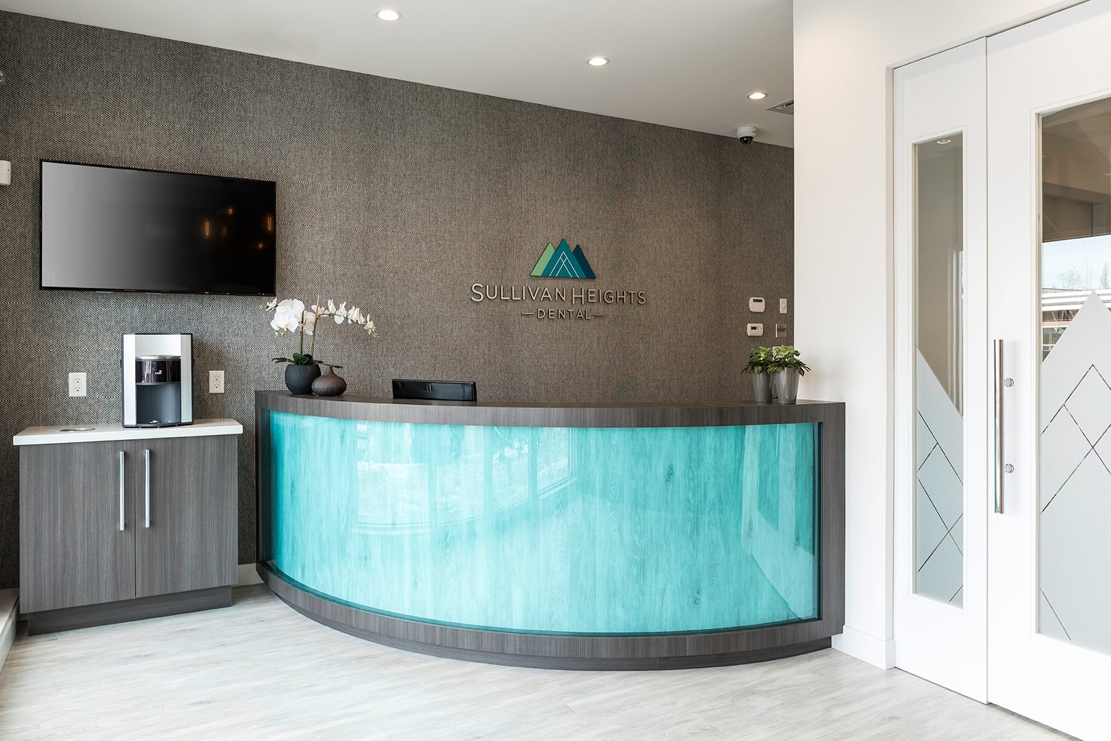 Arborlea Developments - Sullivan Heights Dental - Reception Area